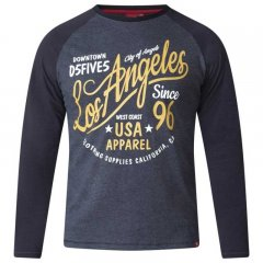 D555 Neill Long Sleeve T-shirt Black
