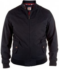 D555 Windsor Cotton Harrington Jacket Navy