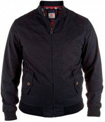 D555 Windsor Cotton Harrington Jacket Black