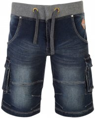 Kam Jeans Dito Elasticated Waist Denim Shorts