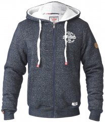 D555 Hulk Fur Lined Zipper Hood Navy