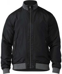 D555 Felix Lightweight Bomber Jacket Black