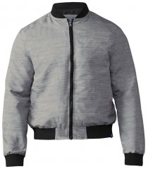 D555 Lou Bomber Jacket Grey