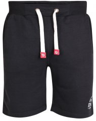 D555 Harvey Fleece Shorts Black