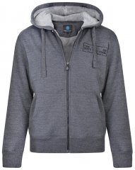 Kam Jeans 7006 Sherpa Lined Hoodie Charcoal