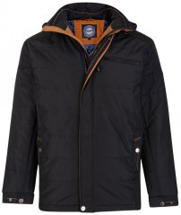 Kam Jeans KV98 Padded Jacket Black