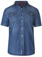 D555 Mike Denim Shirt