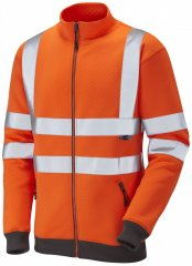 Leo Libbaton Track Top Hi-Vis Orange