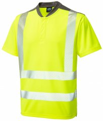 Leo Putsborough COOLMAX® Performance T-Shirt Hi-Vis Yellow