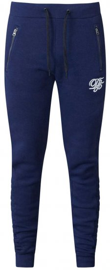 D555 Javier Fashion Sweatpants Navy - Collegehousut ja Collegeshortsit - Isot collegehousut ja collegeshortsit