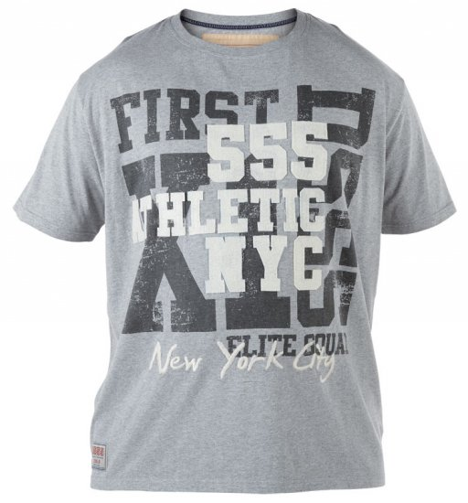 D555 NYC Athletic T-shirt - T-paidat - Isot T-paidat 2XL – 8XL