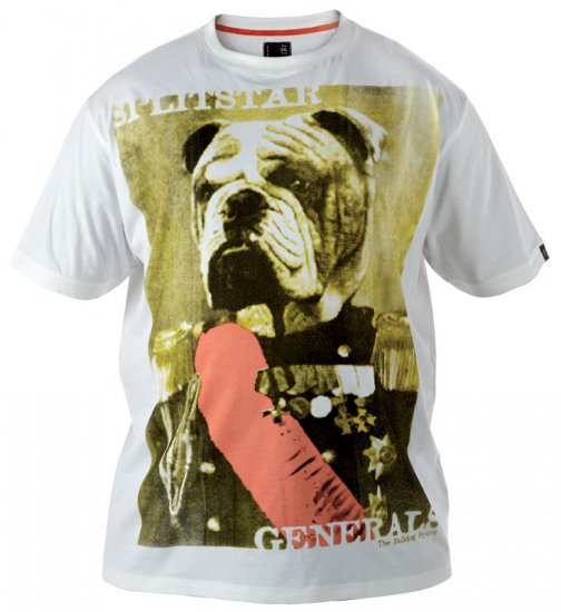 Split Star Dog T-shirt - T-paidat - Isot T-paidat 2XL – 8XL