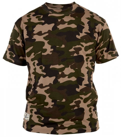 Duke Camo T-shirt Jungle - T-paidat - Isot T-paidat 2XL – 8XL