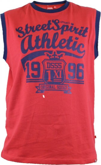 D555 Vest Rally Red - T-paidat - Isot T-paidat 2XL – 8XL