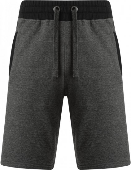 Kam Jeans 315 Jogger Shorts Charcoal - Collegehousut ja Collegeshortsit - Isot collegehousut ja collegeshortsit