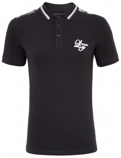 Loyalty & Faith Element Polo Black - Pikeet - Miesten isot pikeet 2XL – 8XL