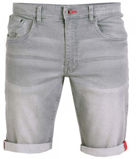 D555 Griffin Denim Shorts Grey - Shortsit - Shortsit, isot koot – W40-W60